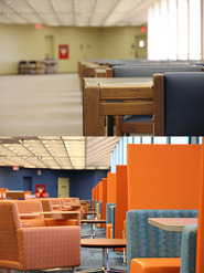 new PCL 5th floor furniture